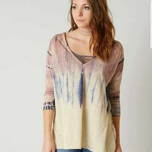 SOLD - NWT Gimmicks by BKE Tie Dyed Top - L